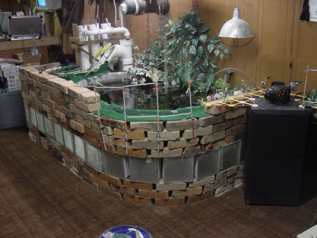 Dungen studeos pond Diy indoor turtle pond