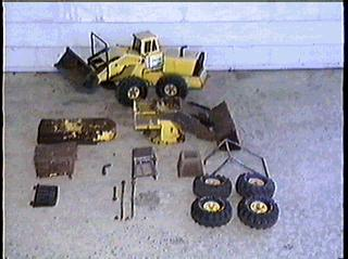Dungeon Studios Tonka Truck Collection